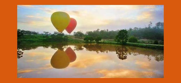 Hot-Air-Balloon-Reflection-In-Lake-Mareeba-Atherton-Tablelands-Queensland-Australia