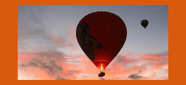 Hot Air Ballooning Luxury Package